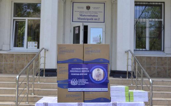 O nouă donație de echipamente de protecție pentru angajații spitalelor municipale