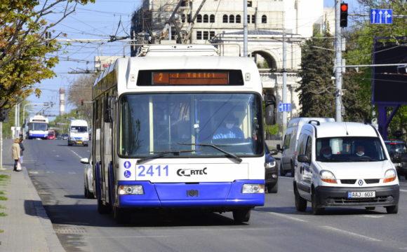 Sistarea  transportul public municipal, în zilele de 9 și 10 mai