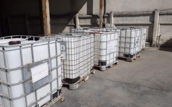 Donație de soluție dezinfectantă pentru serviciile municipale de salubrizare