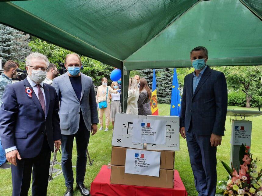 Primarul general, Ion Ceban, a adresat un mesaj de felicitare poporului francez cu ocazia Zilei Naționale a Franței