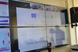 Cu sprijinul Uniunii Europene și OMS, a fost lansat  Centrul operativ de coordonare în urgențe de sănătate publică