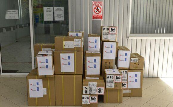 """Un nou lot de echipamente medicale au fost donate Spitalului Clinic Municipal """"Sfânta Treime"""""""