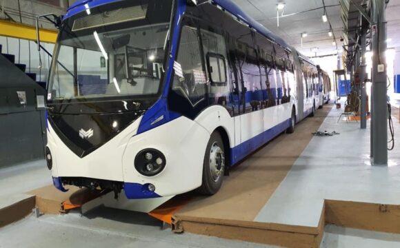 Municipalitatea achiziționat 5 troleibuze noi articulate, care vor fi puse pe rute în perioada următoare