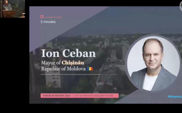 Discursul primarului general al municipiului Chişinău, Ion Ceban, în cadrul Forumului ONU al Primarilor de la Geneva (VIDEO)
