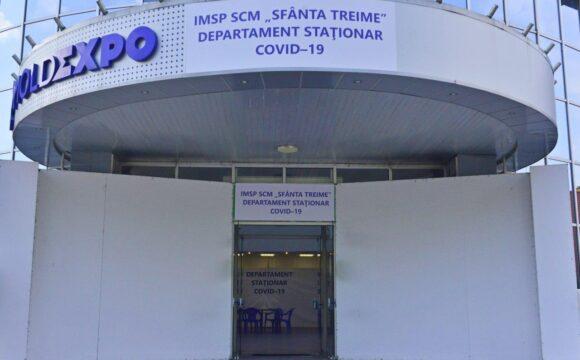 """Centrul """"COVID-19 Chișinău"""" de la MoldExpo și-a extins capacitatea cu 200 locuri de staționar"""