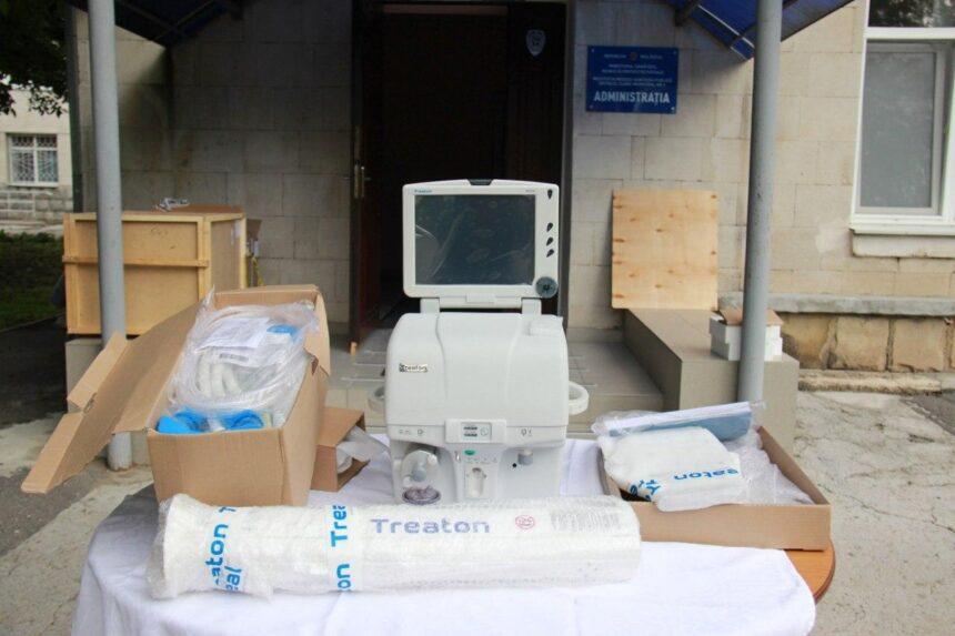 """Echipament de ventilare artificială a fost donat SCM """"Gheorghe Palade"""""""