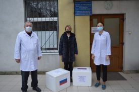 Un lot de teste pentru depistarea infecţiei COVID-19 donat Laboratorului ANSP de Ambasada Federației Ruse în Republica Moldova