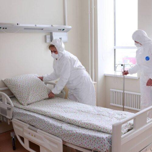 Чебан призвал центральные власти увеличить число мест для больных COVID-19 в республиканских больницах