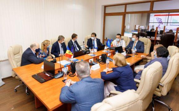 O delegație a înalților oficiali europeni în vizită de lucru la ANSP