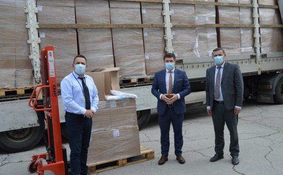 Donaţie de echipament medical de protecție din partea mediului de afaceri oferit Agenției Naționale pentru Sănătate Publică
