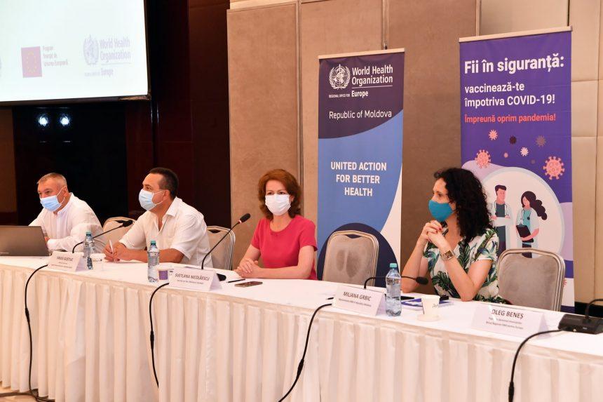 Medicii epidemiologi din Republica Moldova au discutat despre planificarea, organizarea și coordonarea procesului de vaccinare împotriva COVID-19