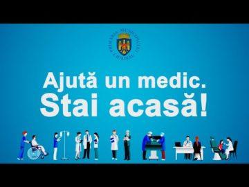 Campania - Ajută un medic. Stai acasă!