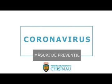 Coronavirus - măsuri de prevenție